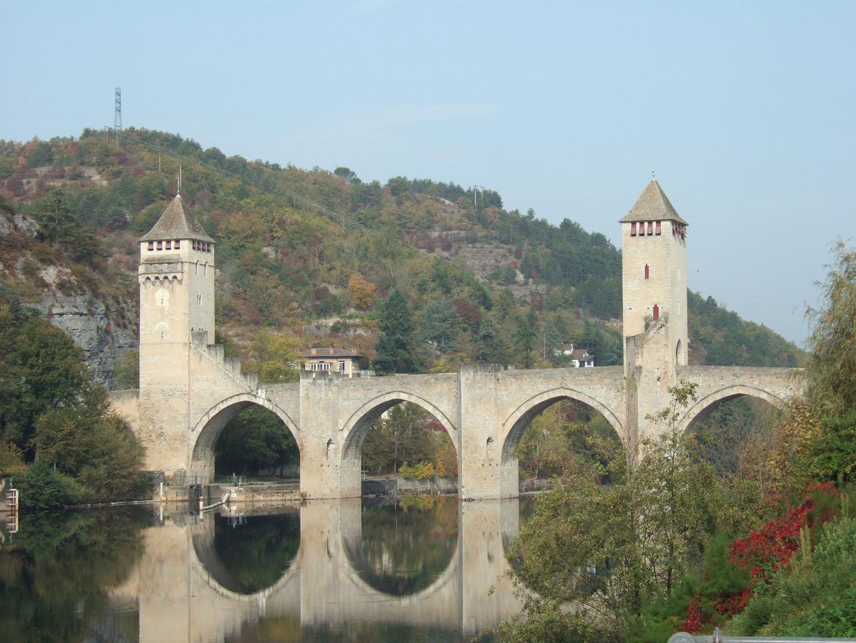 Lot, Le pont Valentre à Cahors